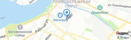 Ультра на карте Иркутска