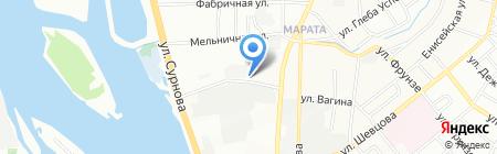 Федор Форточкин на карте Иркутска