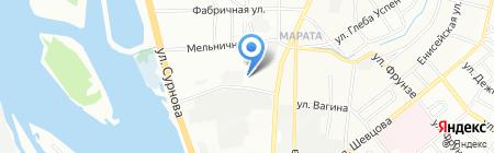 Мастер Лев на карте Иркутска