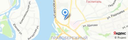 А Элита на карте Иркутска