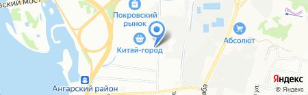 Абсолют М на карте Иркутска