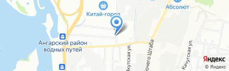 БайкалСтройСнаб на карте Иркутска