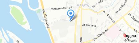 Иркутскторгтехника на карте Иркутска
