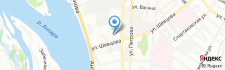 Kit на карте Иркутска