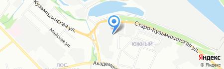 Аксель-Кидс на карте Иркутска
