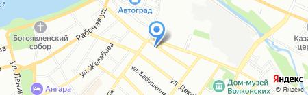 ИЗОЛЯТОР на карте Иркутска
