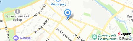 РеКомп-Сервис на карте Иркутска
