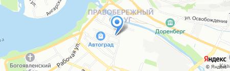 Микротех на карте Иркутска