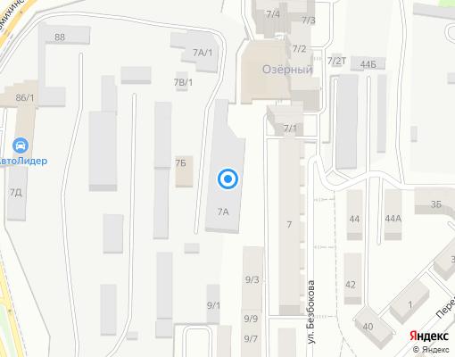 Управляющая компания «Озёрный» на карте Иркутска