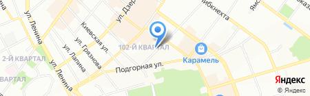 Нья Чанг на карте Иркутска
