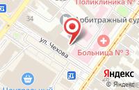 Схема проезда до компании Легат в Иркутске
