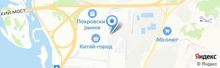 Доставка 95 на карте Иркутска