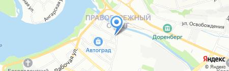 Технологии обогрева на карте Иркутска