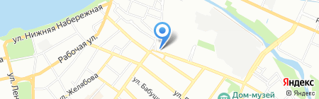 ЕС-Байкал на карте Иркутска