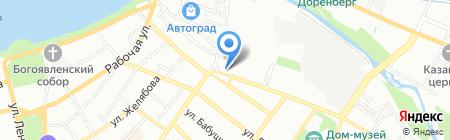 Аэлита на карте Иркутска