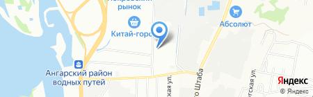 Мэджик Системс-Восточная Сибирь на карте Иркутска