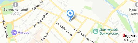 СтройКонсалт на карте Иркутска