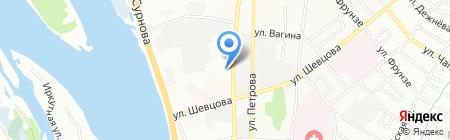 СпецАвтоуслуги на карте Иркутска