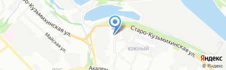 Эль Актив на карте Иркутска
