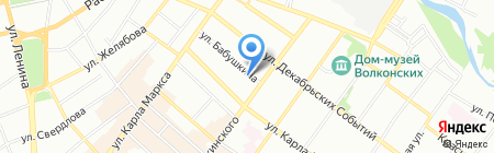 Планета ZOO на карте Иркутска