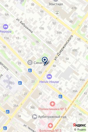 КБ ТPАСТКОМБАНК на карте Иркутска