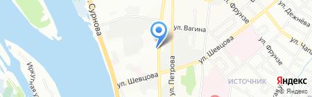 Элит-Строй на карте Иркутска