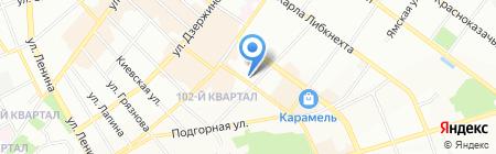 Эко-хим на карте Иркутска