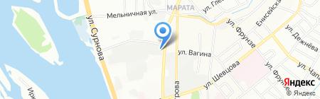 Волшебница на карте Иркутска