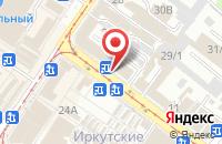 Схема проезда до компании Дружба в Иркутске