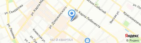 Алиса на карте Иркутска