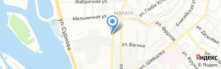 Открывашка на карте Иркутска