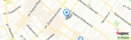 Ангара тур на карте Иркутска