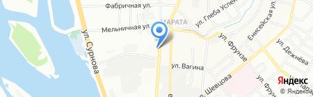 Мэри на карте Иркутска