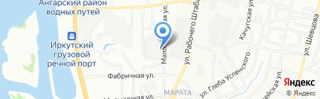 Сантехлюкс на карте Иркутска