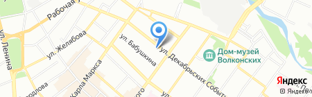 Иркутский райпотребсоюз на карте Иркутска