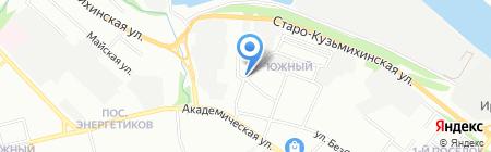Руслан на карте Иркутска
