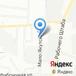 Мастер на 1 час на карте Иркутска