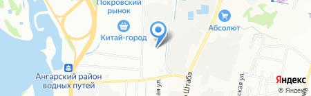 БРАВО ЯХТИНГ на карте Иркутска