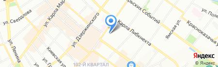 ОбувКом на карте Иркутска