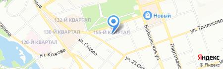 Ян на карте Иркутска
