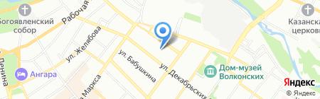 Seven на карте Иркутска