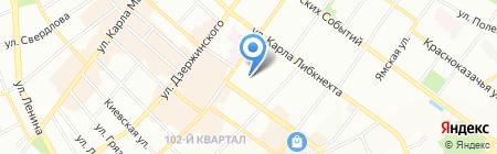 Hua Shen на карте Иркутска