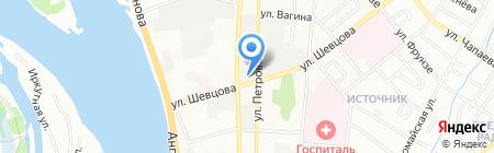 Приоритет на карте Иркутска