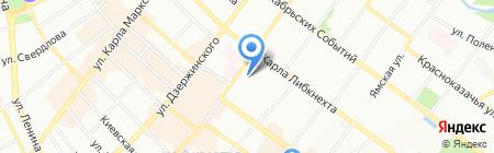 Гостевой дом на карте Иркутска