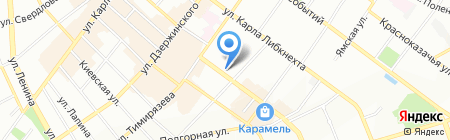 Кожгалантерейная мастерская на карте Иркутска