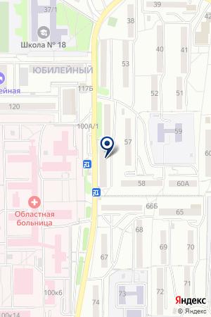 АПТЕКА ЛАРА-ТРАНЗИТ на карте Иркутска