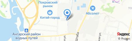 Мебель Хит на карте Иркутска
