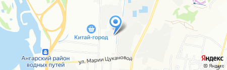 Элит-Мастер на карте Иркутска