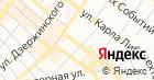 Атекс на карте