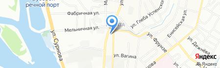 АЗС БРК на карте Иркутска